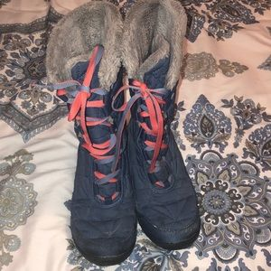 Big Girl Omni heat Columbia winter boots